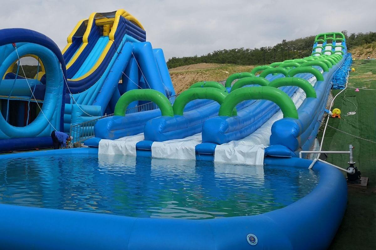 Inflatable Slideombos, Slides, Inflatable Sport Games ...