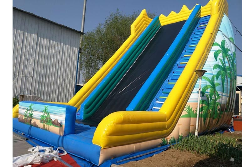 2020 New 38ft Tall Rush Ground Inflatable Bouncer Slide