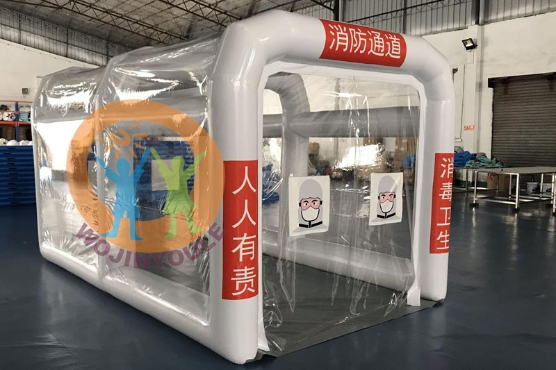 IT051 Hot sale New design inflatable misting tunnel inflatable disinfection tentemergency medical