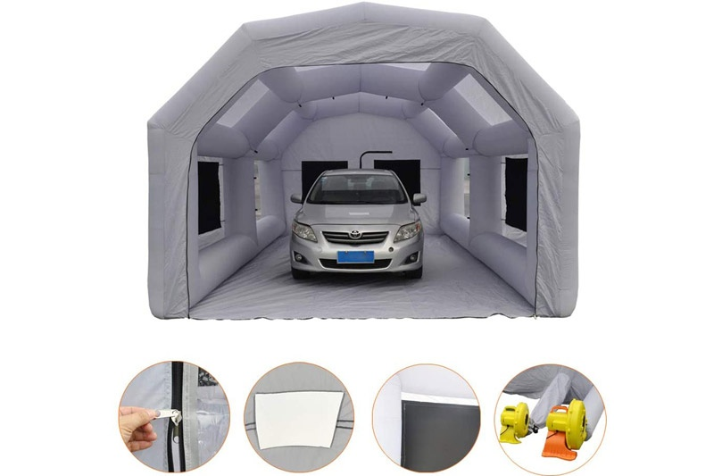 Inflatable Car Paint Spray Booth, Giant Inflatable Spray Booth